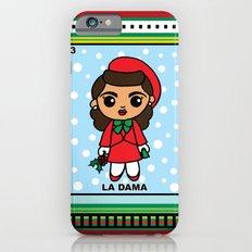 Christmas Loteria La Dama iPhone 6s Slim Case