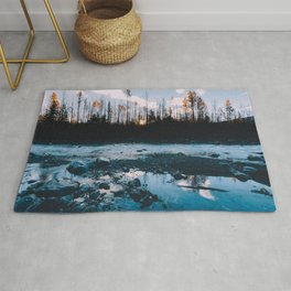 Rising Sun - Kenai Fjords National Park Rug