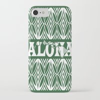 aloha iPhone & iPod Cases featuring ALOHA by Lonica Photography & Poly Designs