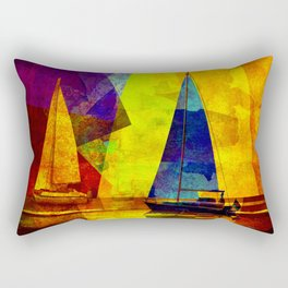 Evening sailing Rectangular Pillow