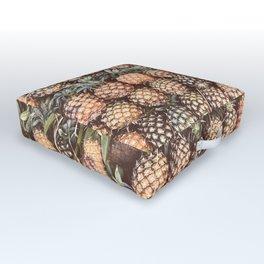 Pineapple Pattern Outdoor Floor Cushion