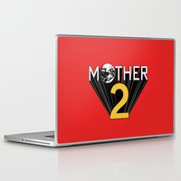 earthbound Laptop & iPad Skins featuring Mother 2 / Earthbound Promo by Studio Momo╰༼ ಠ益ಠ ༽
