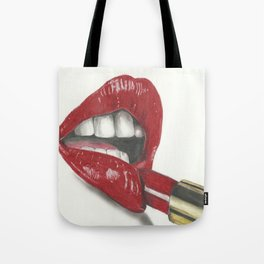 Ruby red Tote Bag