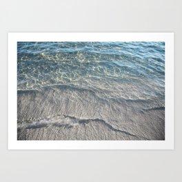Water Photography Beach Art Print