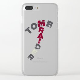 Tomb Raider Axe Clear iPhone Case