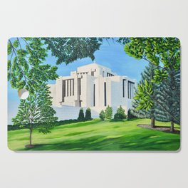 Cardston, Alberta Temple Cutting Board