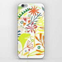 tropical iPhone & iPod Skins featuring Tropical by Nic Squirrell