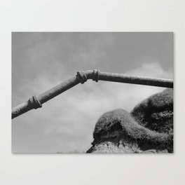 Pipe Line Canvas Print