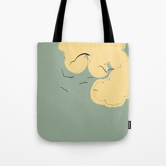 The Yellow Clouds Tote Bag