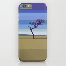 Minimal savannah iPhone 6s Slim Case