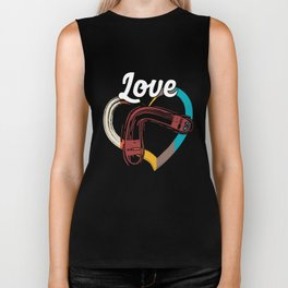 Love Boomerang Sports Athlete Competitive Sports Athletic Gifts Biker Tank