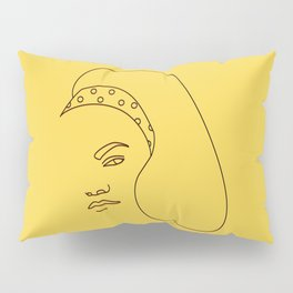 Eartha Kitt Pillow Sham