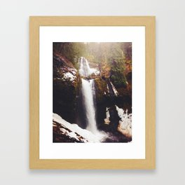Falls Creek Framed Art Print