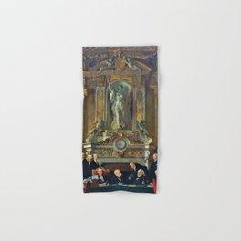 12,000pixel-500dpi - A Peace Conference at the Quai d'orsay - Sir William Orpen Hand & Bath Towel