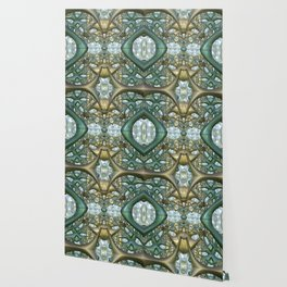 Digital adventure, fractal abstract Wallpaper