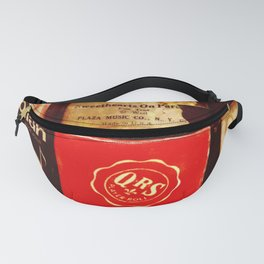 Piano Rolls Fanny Pack
