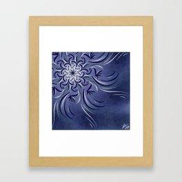 Lavender Flourish Framed Art Print