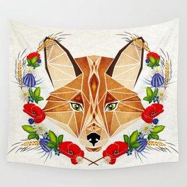 spring fox  Wall Tapestry