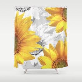 Sunflower Bouquet #decor #society6 #buyart Shower Curtain