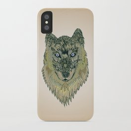 The wolf of your dreams iPhone Case