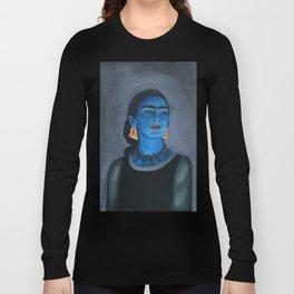Blue Frida Long Sleeve T-shirt
