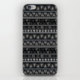 Bohemian Mud cloth iPhone Skin