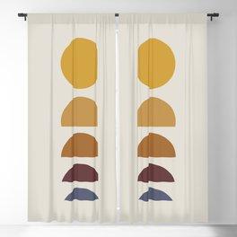 Minimal Sunrise / Sunset Blackout Curtain