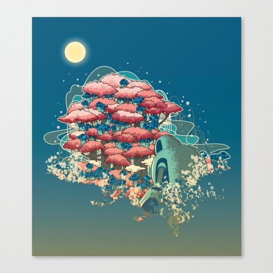 Journey /Discovery  Canvas Print