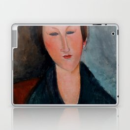 """Amedeo Modigliani """"Buste de jeune fille (Mademoiselle Marthe)"""" Laptop & iPad Skin"""