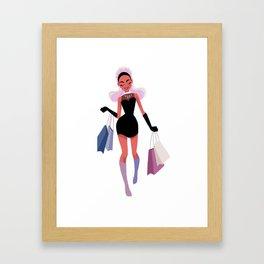 Girly 1 Framed Art Print