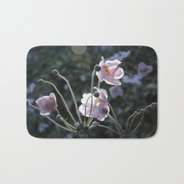 Bokeh Outline Bloom Bath Mat