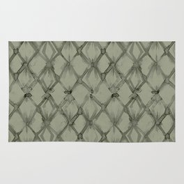 Braided Diamond Simply Green Tea Rug