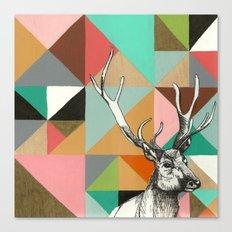 House of blocks Canvas Print