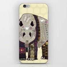 chocolate panda straw iPhone & iPod Skin