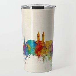 Bremen Germany Skyline Travel Mug