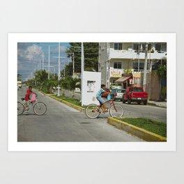 Brother Bike. Art Print