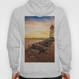 Lighthouse Sunset Wales Hoody