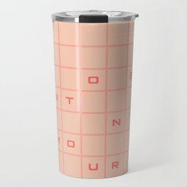 pantone amour Travel Mug