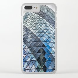 London The Gherkin  30 St Mary Axe Clear iPhone Case