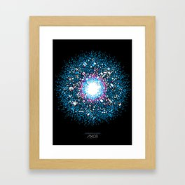 Gaming Supernova - AXOR Gaming Universe Framed Art Print