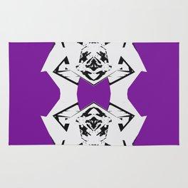 Dark Purple Scrunch Rug