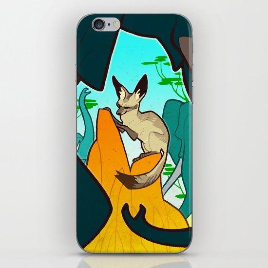 Bat-Eared Fox iPhone & iPod Skin