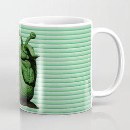 Green Bug Coffee Mug