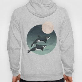 moonlight caravan // orcas Hoody