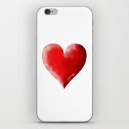 I Heart iPhone Skin