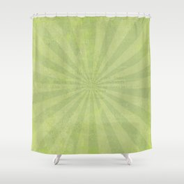 Green sun - solid colors and lifestyle Shower Curtain
