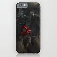 Girl with the red hood iPhone 6 Slim Case