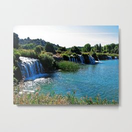 Lagoons de Ruidera Metal Print