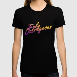 one Truly Outrageous night only - Jem glam poster T-shirt