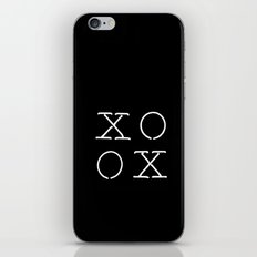 XOXO iPhone & iPod Skin